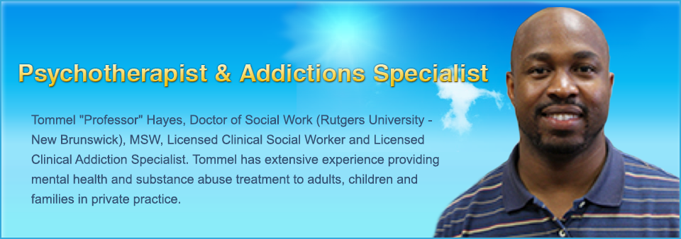 Psychotherapist & Addictions Specialist