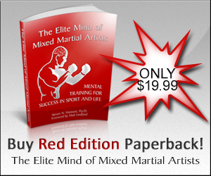 The Elite Mind of Mixed Martial Artists - Red Edition Paperback